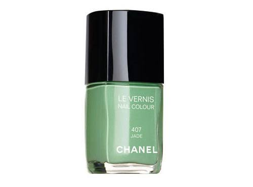 Chanel Jade Green Nail Polish | DIY Beauty Skincare and Health Tips