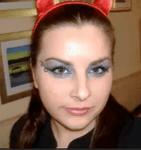 eye makeup for Halloween