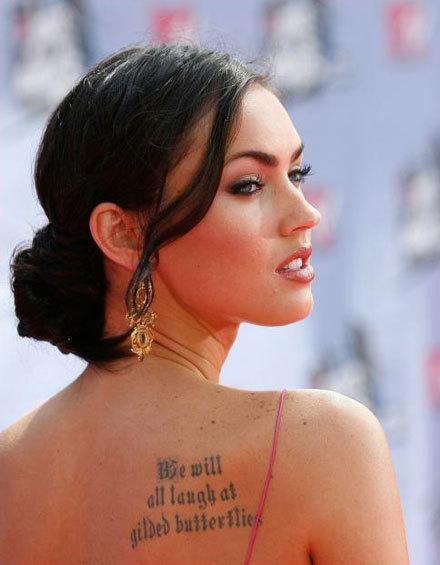 Tattoo Ideas for Girls – Celebrity Tattoo designs