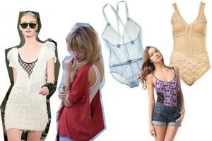 summer bustier bodysuit