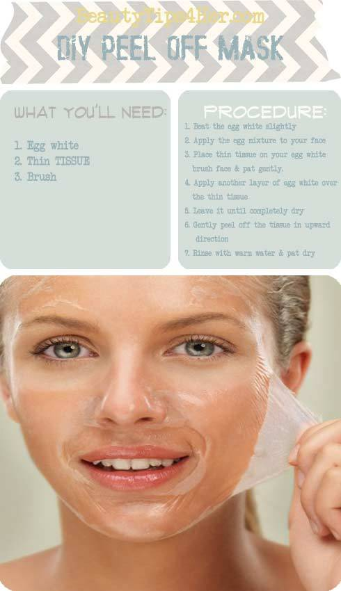 DIY facial mask blackhead removal