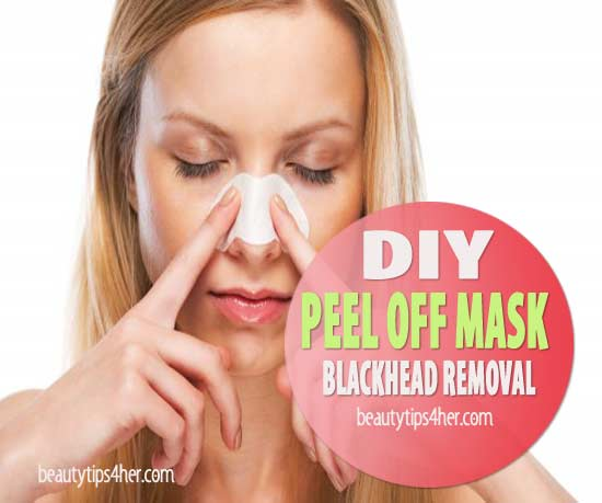 Facial removing blackheads