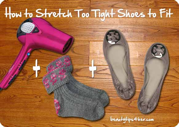 How to Stretch Too Tight Shoes to Fit