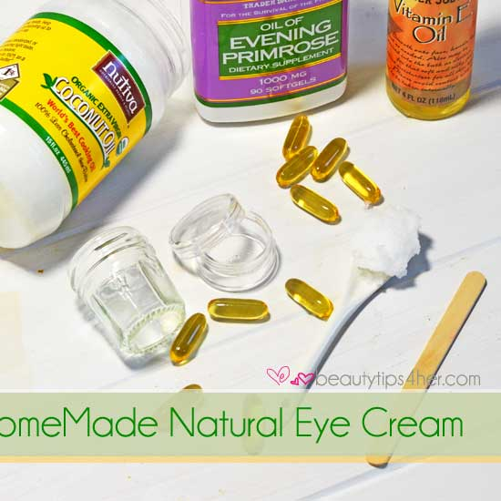 Homemade Eye Cream – How to Get Rid of