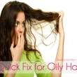 Wacky Beauty Tips that Work: A Quick Fix for Oily Hair