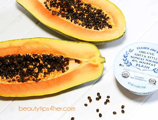 papaya-and-yogurt