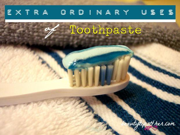 extraordinary uses of toothpaste