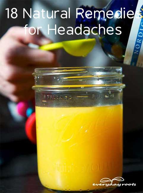 Natural Home Remedies For Tension Headaches