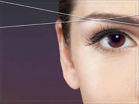 DIY Eyebrow-threading