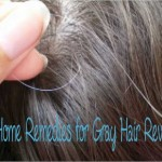 50 Home Remedies for Treating Premature Graying of Hair : Gray Hair Cure and Treatment