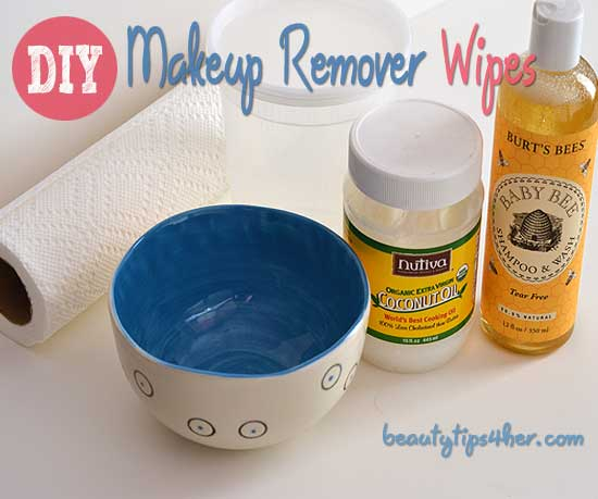 DIY Waterproof Makeup Remover Wipes - Natural Beauty Skin Care