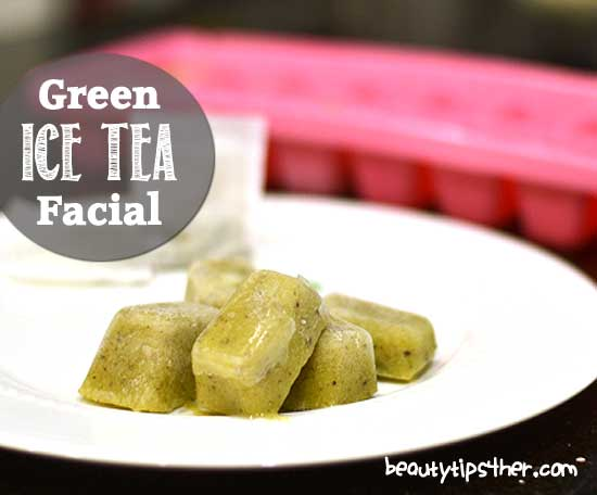 Ice-facial-green-tea