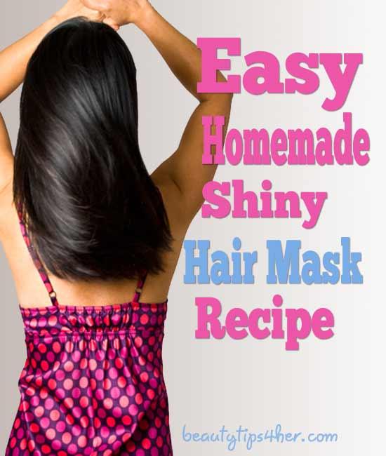 Secrets To Shiny Hair Diy Shiny Hair Mask Natural Beauty
