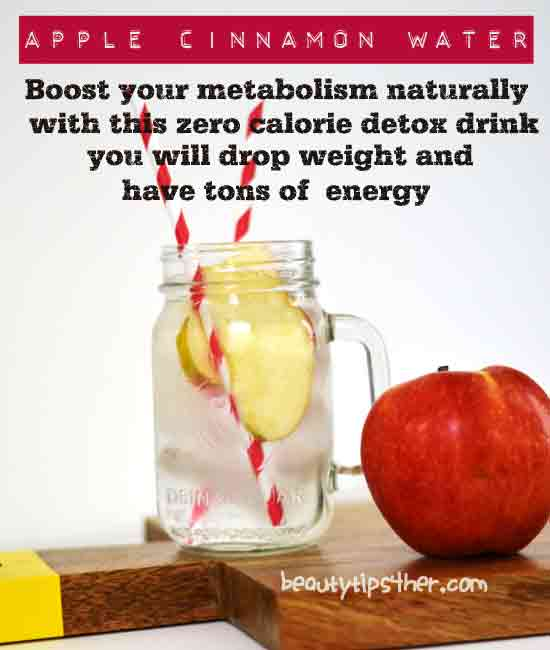 apple-detox water