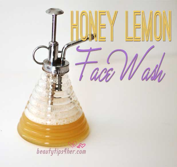 Honey-lemon-facial-wash
