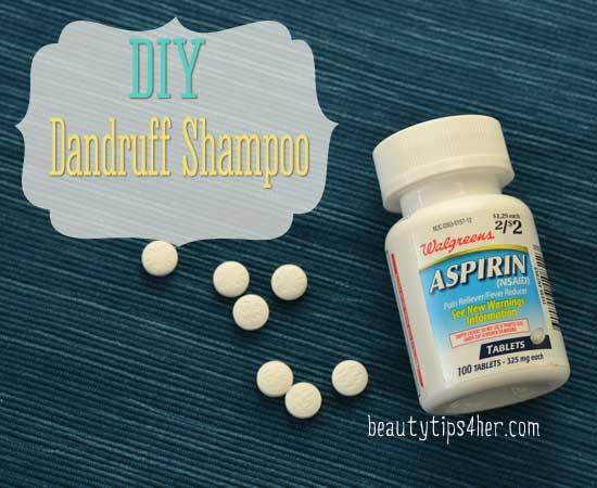 DIY dandruff-shampoo