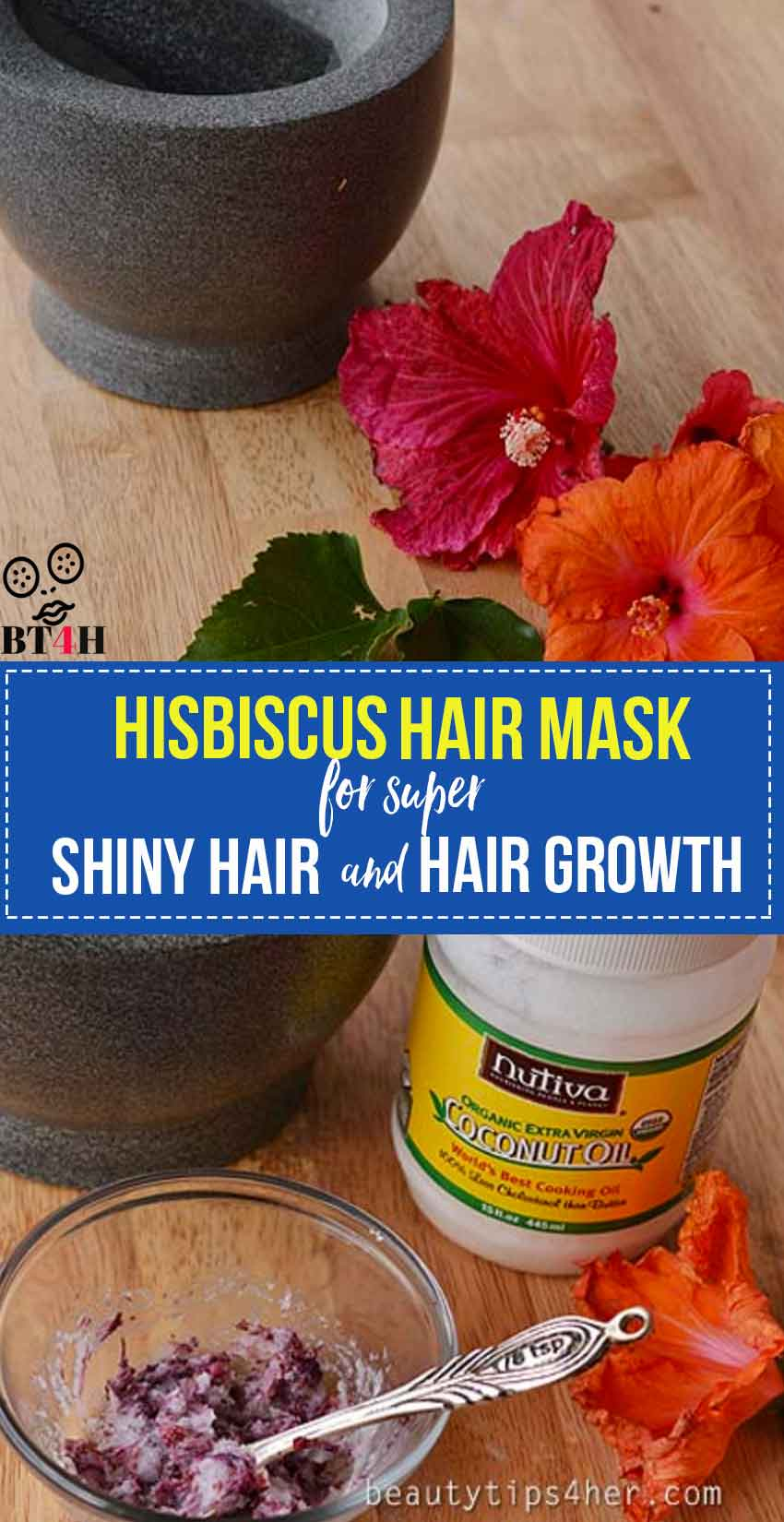 hair mask for shiny hair