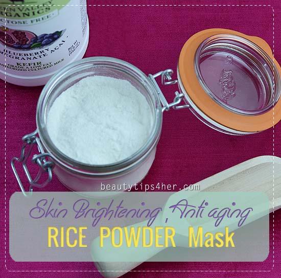 Rice Powder: An Asian Skin Whitening Secret - Natural