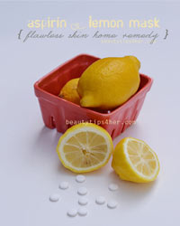 Thumbnail image for Dr Oz Aspirin and Lemon Juice Flawless Skin Home Remedy
