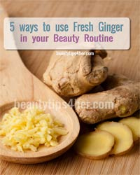 Thumbnail image for 5 Awesome Ways to Use Fresh Ginger in Your Beauty Routine