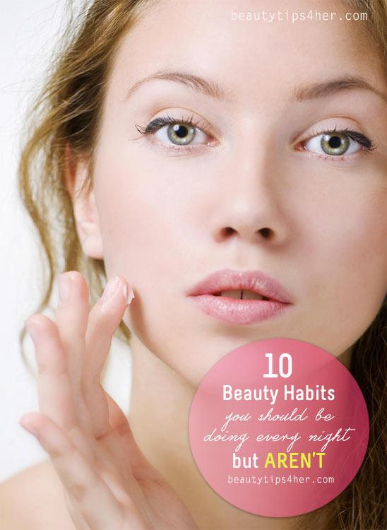 beauty-habits-at-night