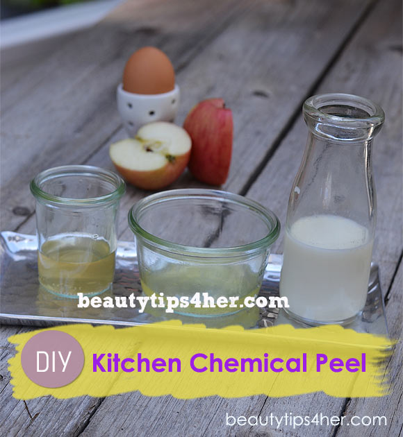 Kitchen DIY Chemical Peel