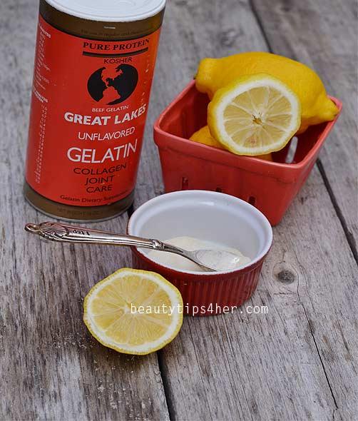 gelatin-face-mask
