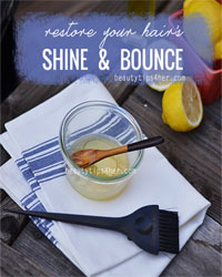 Thumbnail image for It's Your Time to Shine: Simple Recipe to Restore Shine to Dull Hair