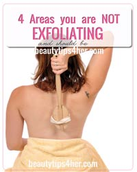Thumbnail image for 4 Areas You're Not Exfoliating… And Should Be