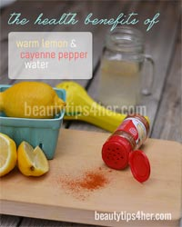 Thumbnail image for The Health Benefits of Drinking Lemon and Cayenne Pepper Water