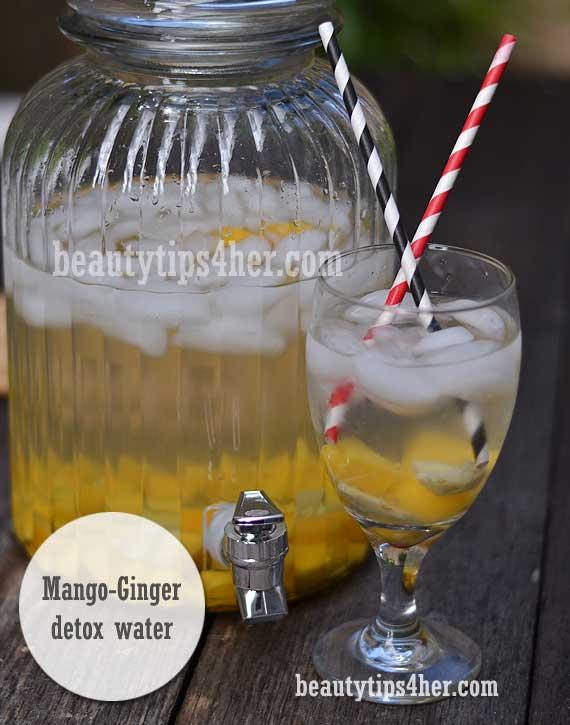 detox-water-mango-ginger