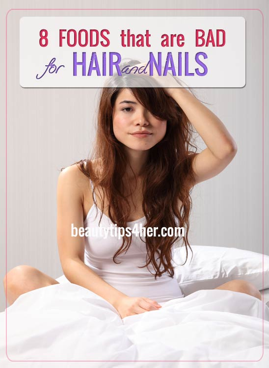 foods-bad-for-hair-nails