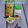 Acne Spot Treatment at Home with Activated Charcoal