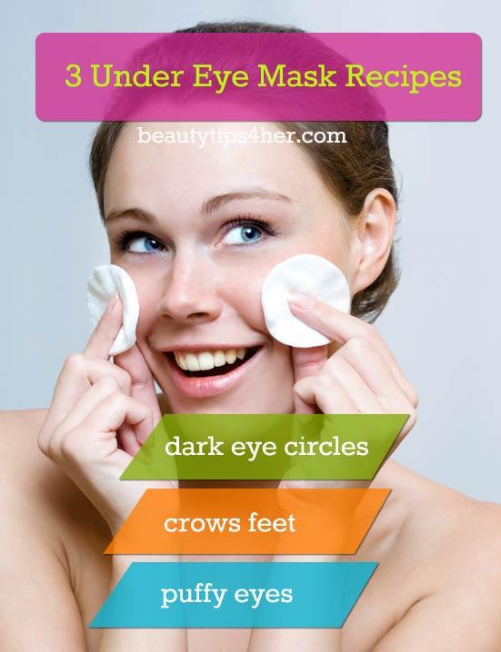 Diy Under Eye Mask Get Rid Of Those Eye Bags Crows Feet And