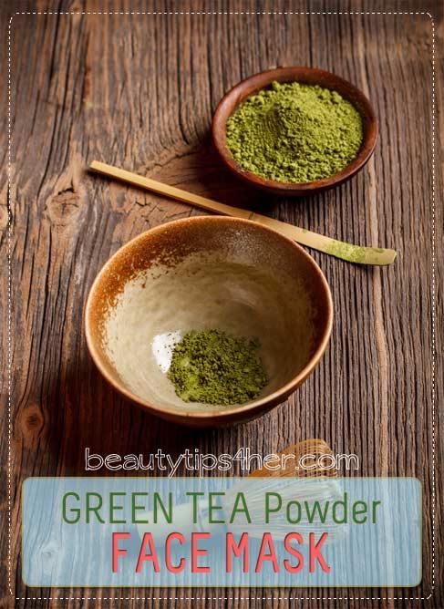 Matcha Green Tea for DIY Beauty Home Remedies to Treat