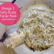 Omega 3 Fatty Acids Facial Mask
