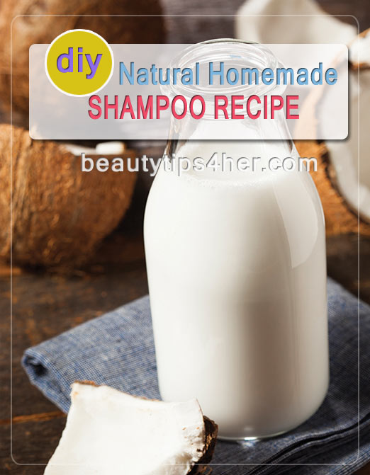 Natural homemade shampoo recipe natural beauty skin care - How to make shampoo at home naturally easy recipes ...