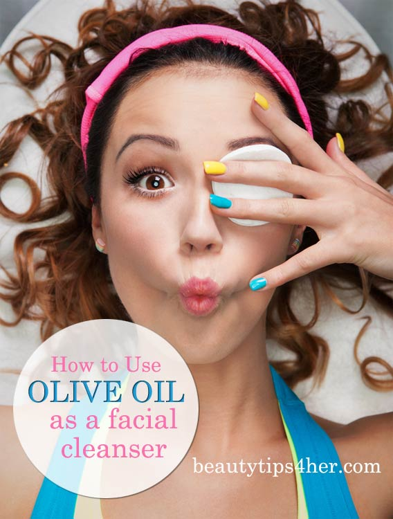 Using Olive Oil as a Facial Cleanser
