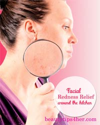 Thumbnail image for Facial Redness Relief from Around the Kitchen