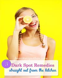 Thumbnail image for 3 Dark Spot Remedies Straight Out of the Kitchen