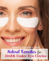 Thumbnail image for Natural Remedies For Dark Under Eye Circles and How to Treat The Cause