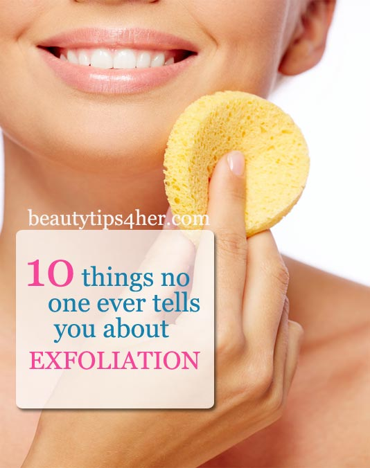 Watch Natural home exfoliates for the skin care video