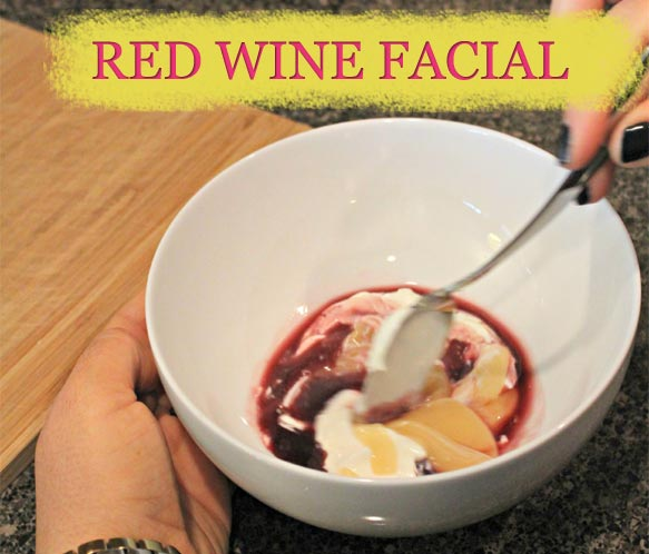 Let Your Pores Soak Up The Wine