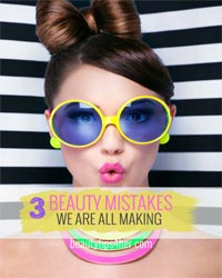 Thumbnail image for 3 Common Beauty Mistakes Everyone Makes