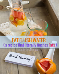 Thumbnail image for A Recipe For Fat Flush Water (It Literally Flushes Fat)