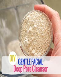 Thumbnail image for DIY Gentle Facial Deep Pore Cleanser Using Oats