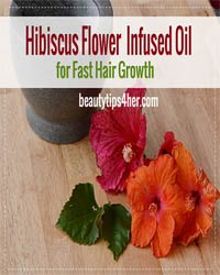 Thumbnail image for DIY Hibiscus Flower Infused Oil For Hair Growth
