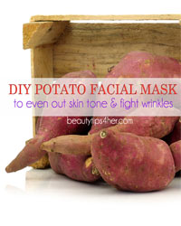 Thumbnail image for DIY Potato Facial Mask to Even Out Skin Tone and Fight the Signs of Aging