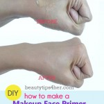 Homemade DIY Makeup Primer