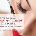 How to Save Dry, Clumpy Mascara and Make it Lasts 2x Longer